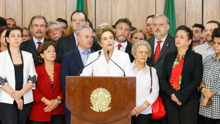 Presidente cassada, Dilma Rousseff, do PT (Foto: Roberto Stuckert Filho/Divulgação)