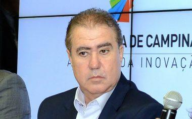 Coletiva com o prefeito Jonas Donizette (Foto: Divulgação/PMC)